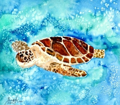 paintings-of-sea-turtles