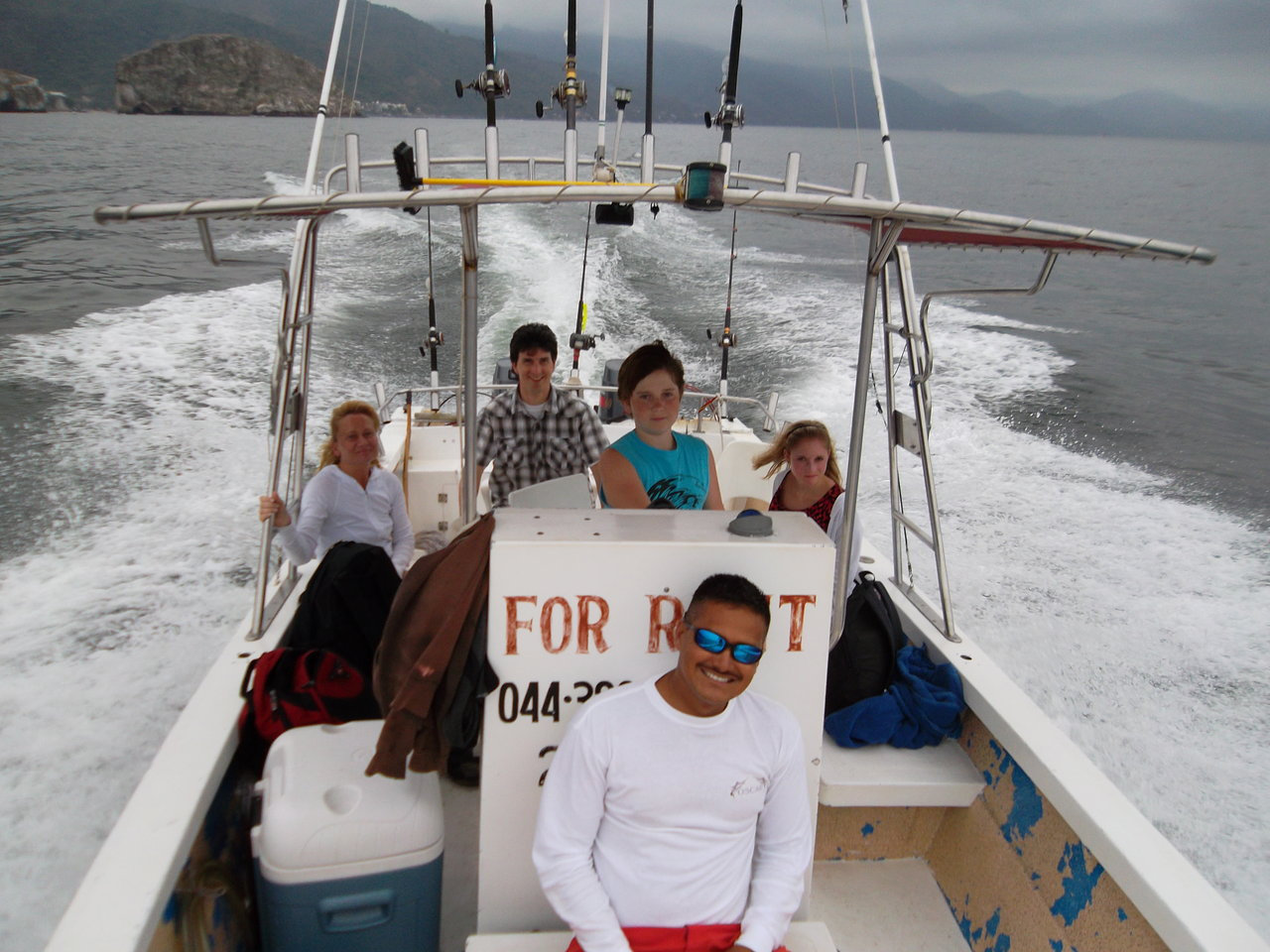 NOT FISHING REBELS boat similar to photo