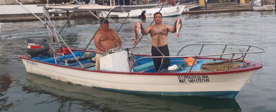 Bottom fishing with Camacho, 4:30am-8:30