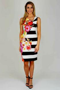 Dress With Bold Print