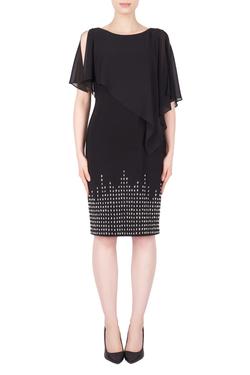 j R ponch style black dress