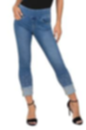 J R Crop Jeanss with the most a