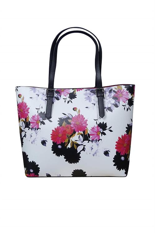 Floral Print Shopper Bag