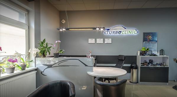 Biuro Siedziby firmy Turboclinic w Suchym Lesie