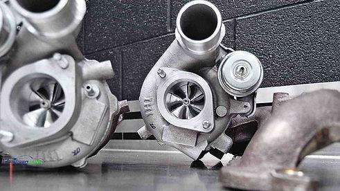 Turbosprężarki firmy IHI.