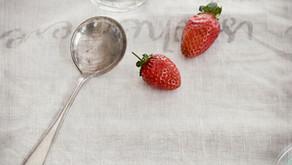Risotto aux fraises du Québec avec émincé de poulet au Mistelle de fraises