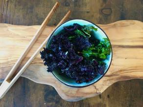 Chips de chou Kale (chou frisé)