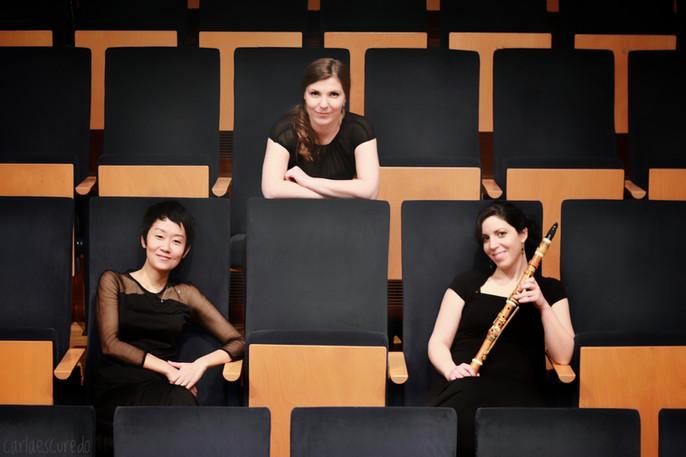 With Makiko Asahi (fortepiano) and Shelly Ezra (historical clarinet) © Carla Escuredo