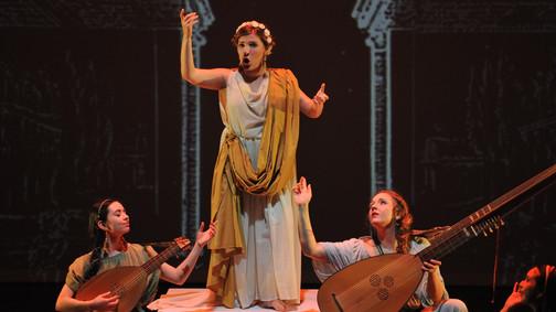 """Monteverdi-Pasticcio """"in stile rappresentativo"""""""