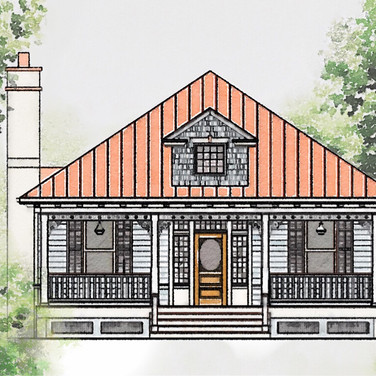 Antonia Folk Victorian House Plan