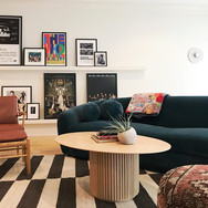 Eclectic Art Deco Living with Mountain Vibes