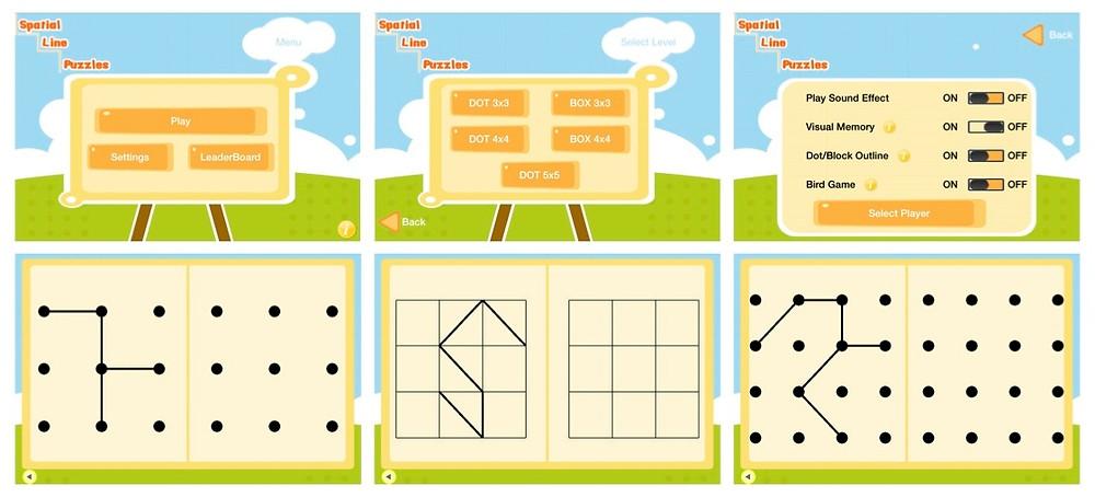 Spatial Line Puzzles