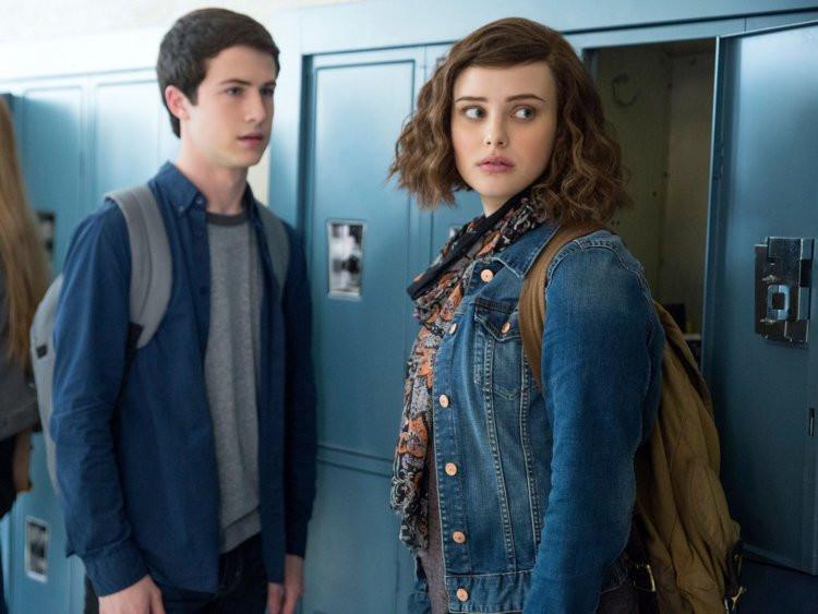Clay Jensen and Hannah Baker, 13 Reasons Why
