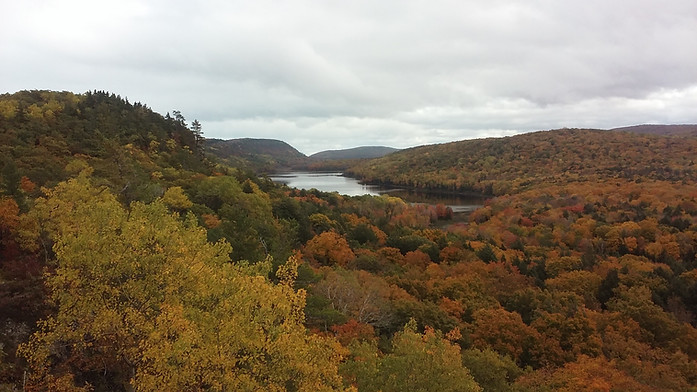 Lake of the Clouds - Porcupine Mountains, MI