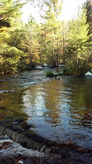 Calm Creek - Bond Falls/Paulding, MI