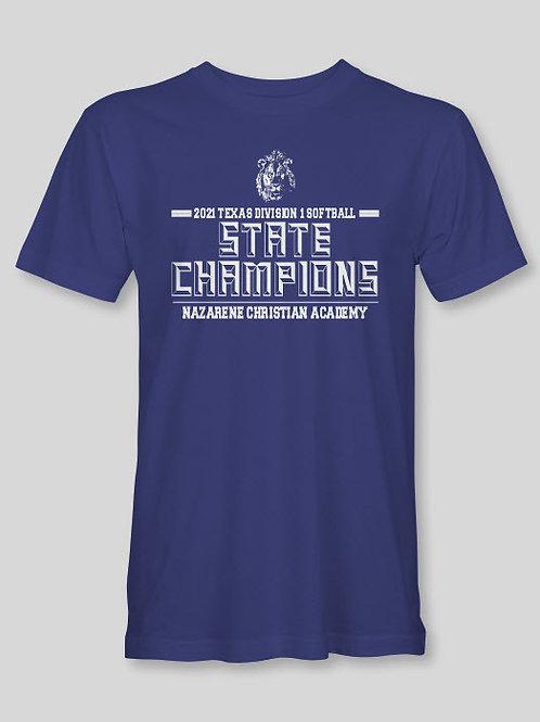 2021 Softball State Champs