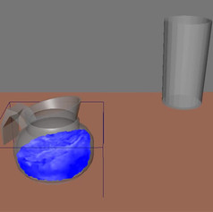 Water Biped Animation
