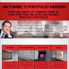 Updated Portfolio Museum Flyer