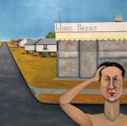 White Bread Shop - oil on canvas