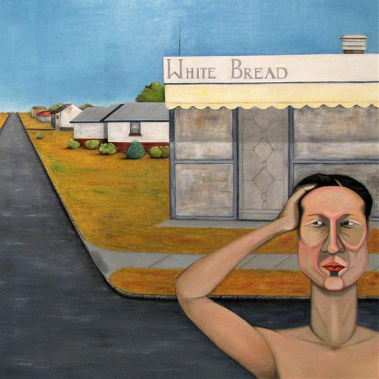White Bread Shop, oil on canvas, 2013
