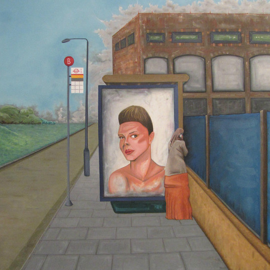 Bilboard, oil on canvas, 2013