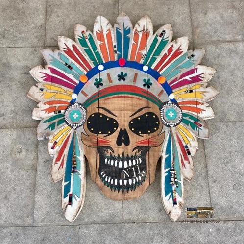 Indian Skull / 93x82cm
