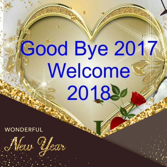 Welcome 2018...