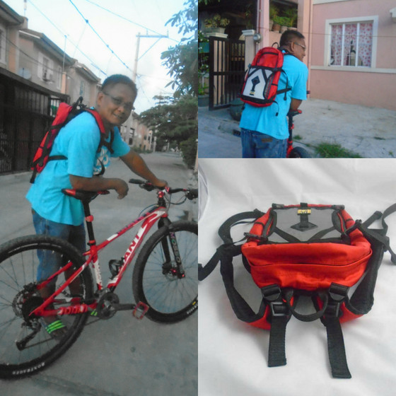 Backpack Made Specially for Biking