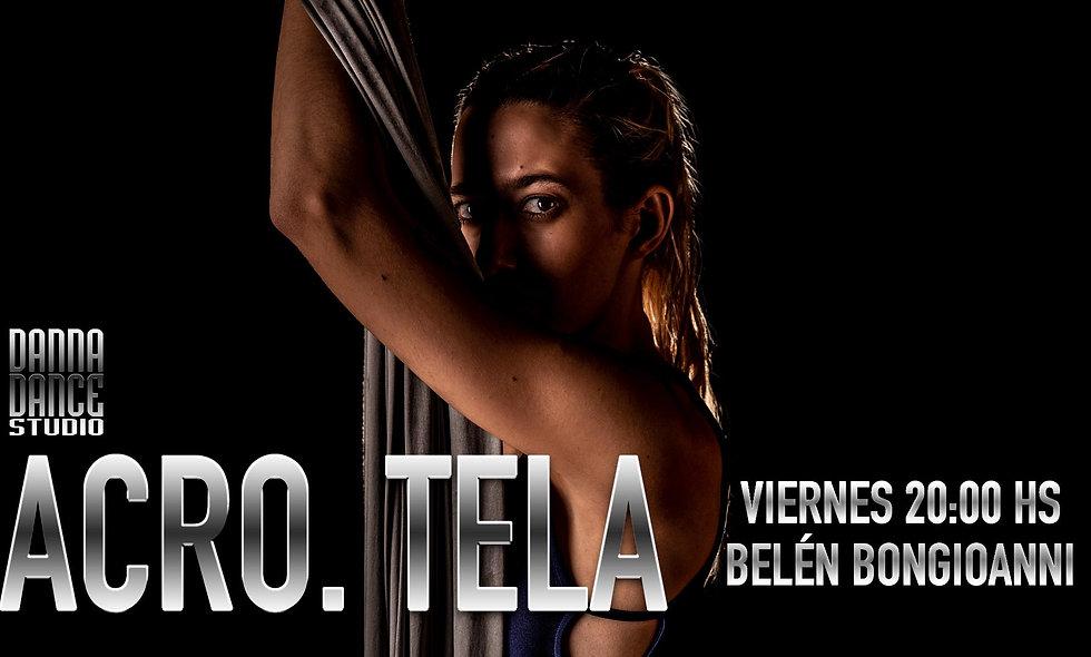 ACRO. TELA / VIERNES 20:00 hs (15+)
