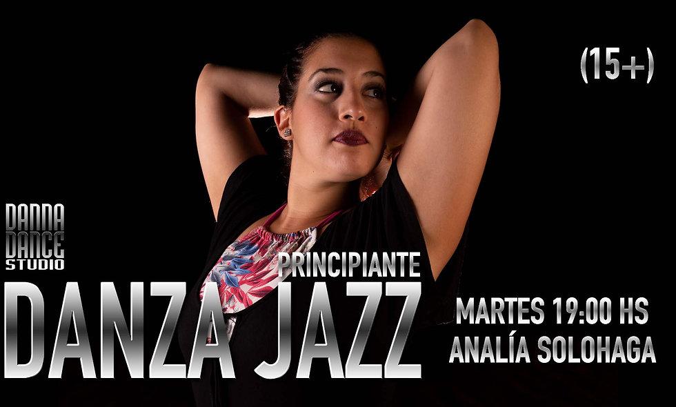 JAZZ PRINCIPIANTE / MARTES 19:00 hs