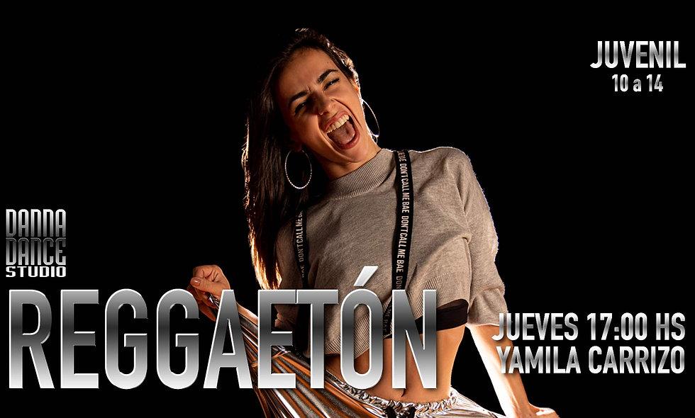 REGGAETÓN Juvenil / JUEVES 17:00 hs