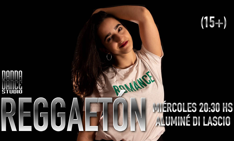 REGGAETÓN / MIÉRCOLES 20:30 hs