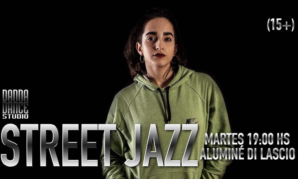 STREET JAZZ / MARTES 19:00 hs