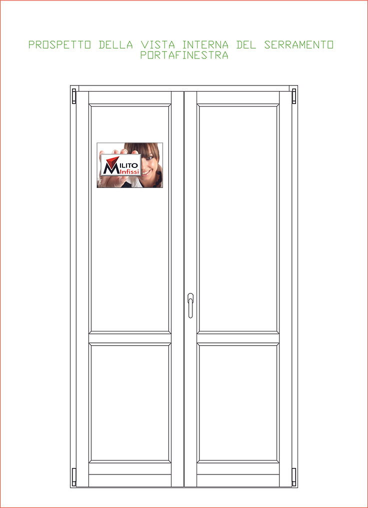 Collezione di finestre e infissi in legno - Finestre prospetto ...