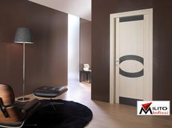 porta di legno massello personalizzata rif. ae