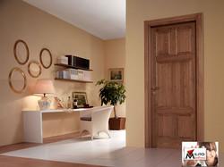 porta  legno massiccio modello 9