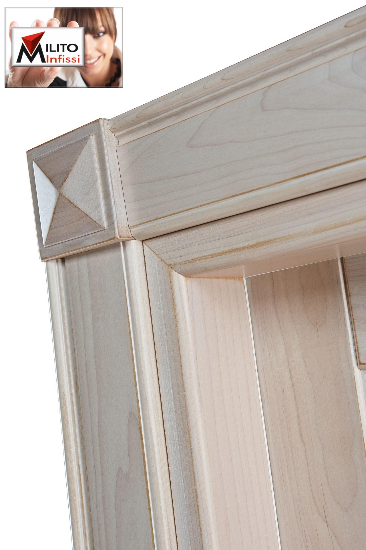 coprifilo con diamante in legno