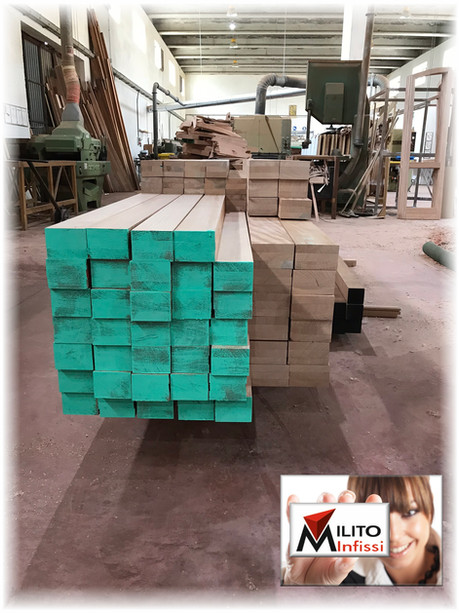 legno lamellare per infissi