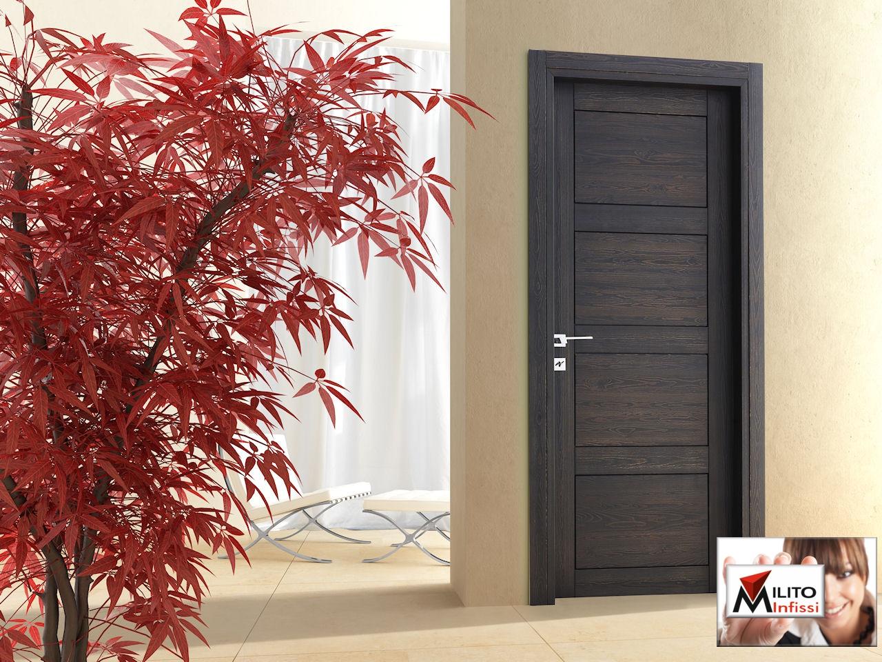 porta in legno personalizzata rif.d