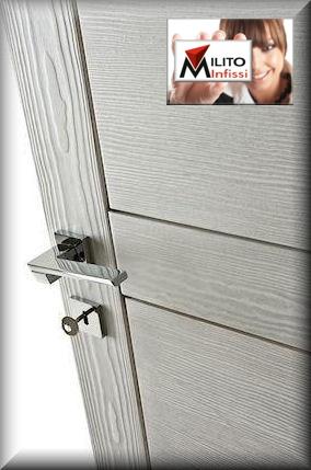 porta spazzolata