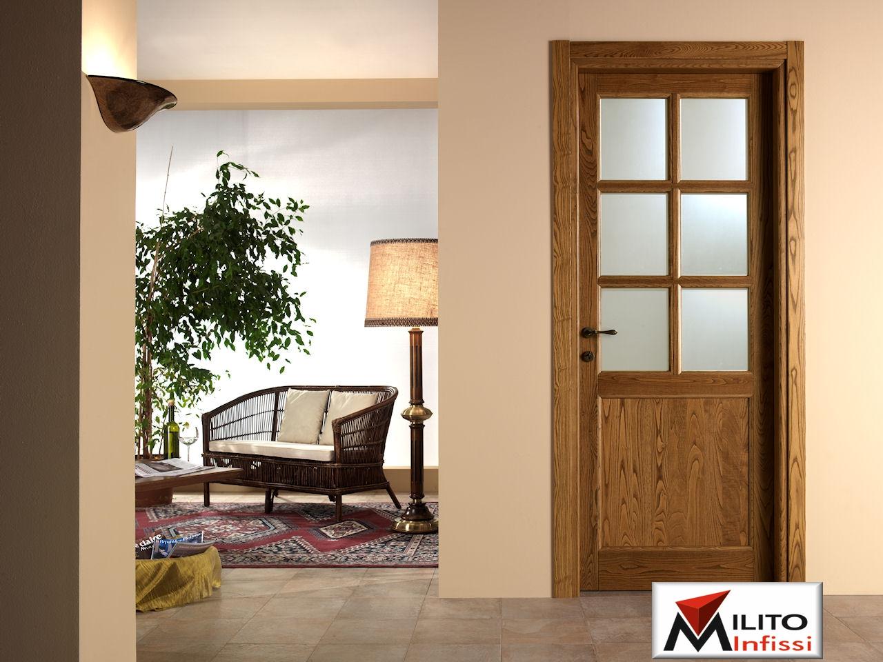 porta interna in legno modello 23