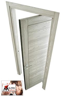 porta in legno massello rototlaslante