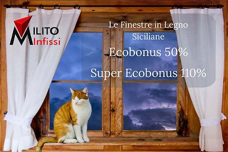 infissi ecobonus 50% superecobonus 110%.