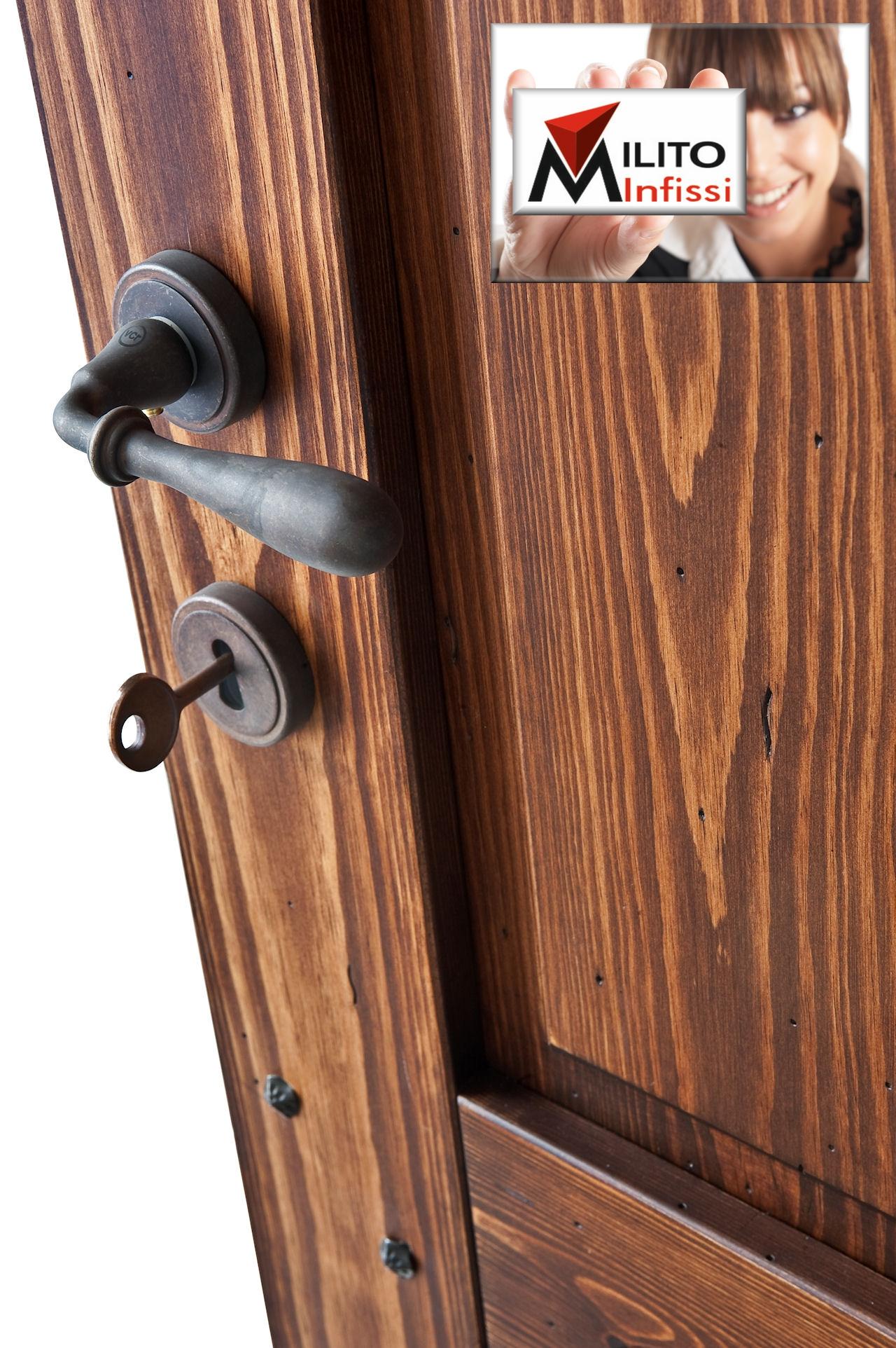 porta legno massiccio modello 24