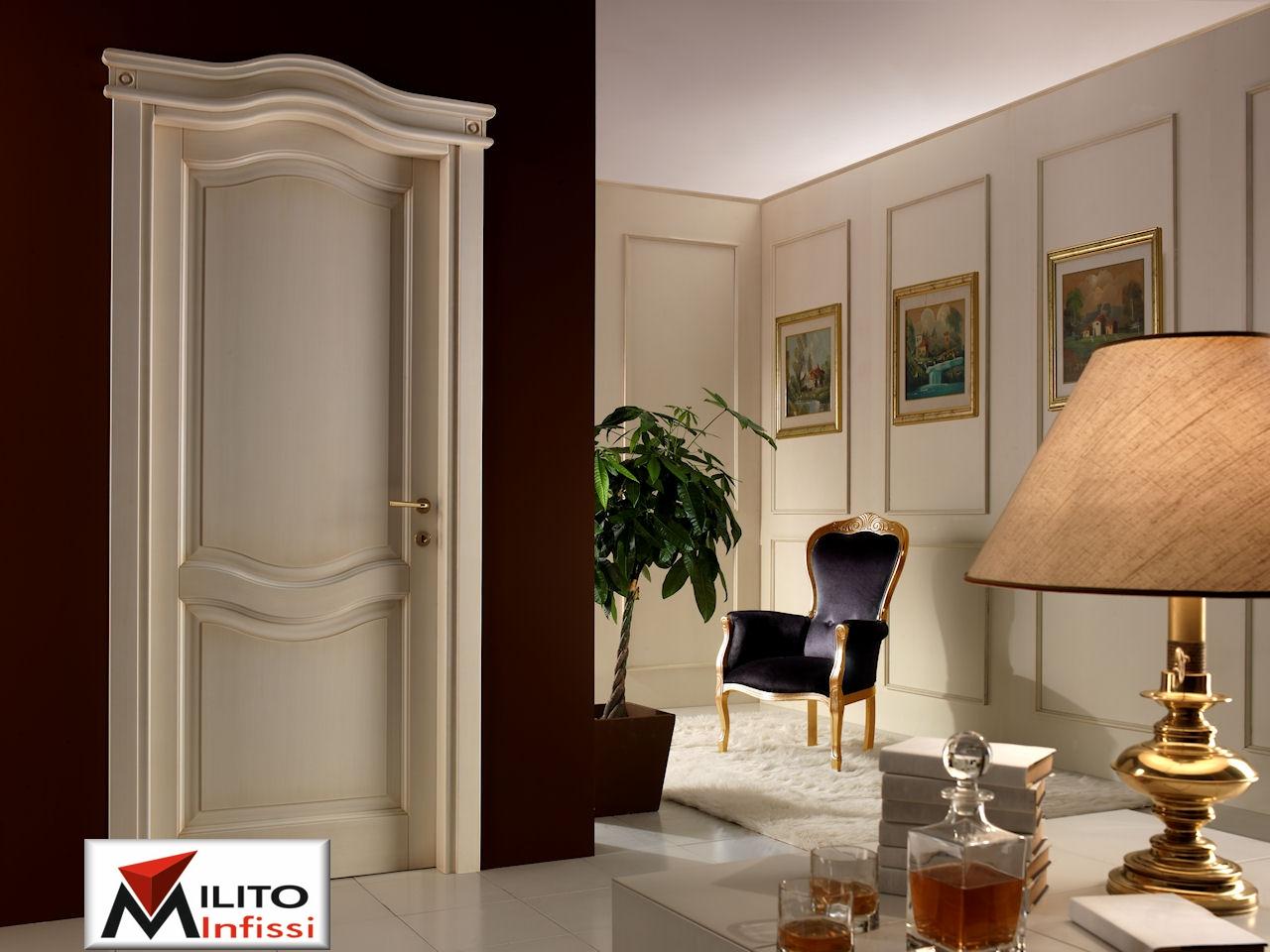 porta interna legno massello personalizzata rif.s