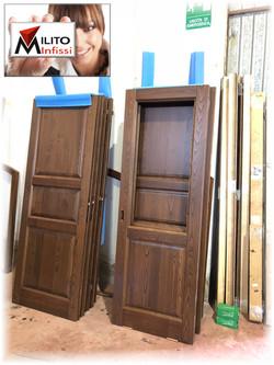 porte in legno rovere