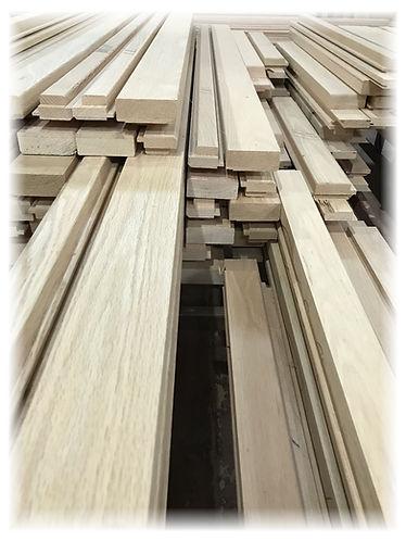 infissi in legno rovere semilavorati per falegnami e appassionati del legno