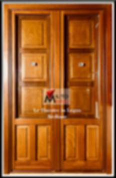 porta finestra con scuri stile siciliano