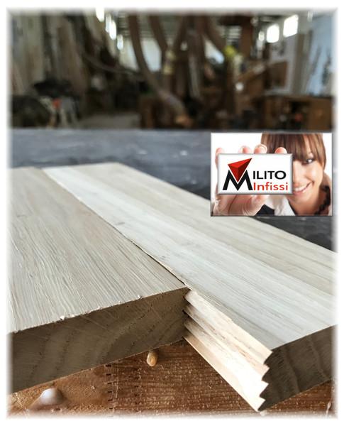 giunzione incollaggio legno massello a pettine