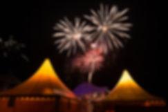 Feuerwerk über Zingst